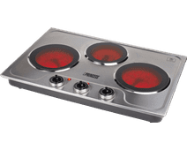 Princess Ceramic hot plate with 3 burners
