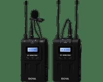 Boya UHF Duo Lavalier Microfoon Draadloos BY-WM8 Pro-K1