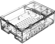 Multicomp Pro Raspberry Pi 4 casing - Transparent