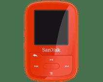 Sandisk Clip Sport Plus Rood