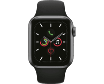 Apple Watch Series 5 40mm Space Gray Aluminum Black Sport Band