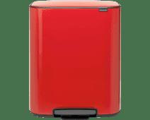 Brabantia Bo Pedal Bin 60 liter Passion Red