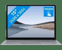 Microsoft Surface Laptop 3 15 inches 8GB - 256GB Platinum