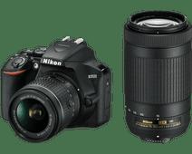 Nikon D3500 + AF-P DX 18-55mm f/3.5-5.6G VR + AF-P DX 70-300mm f/4.5-6.3G ED VR