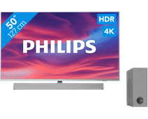 Philips The One (50PUS7304) - Ambilight + Soundbar
