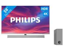 Philips The One (58PUS7304) - Ambilight + Soundbar