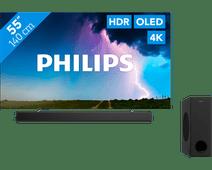 Philips 55OLED754 - Ambilight + Soundbar