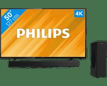 Philips 50PUS6504 + Soundbar