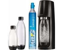 SodaStream Spirit Black + 3 bottles