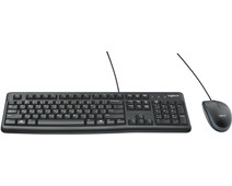 Logitech MK120 Keyboard and Mouse QWERTY