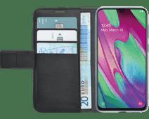 Azuri Wallet Magnet Samsung Galaxy A40 Book Case Black