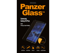 PanzerGlass Case Friendly Privacy Samsung Galaxy S9 Plus Screen Protector Glass Black