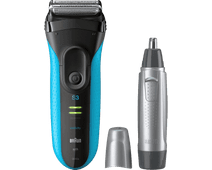 Braun Series 3 3040 Wet & Dry + Neustrimmer