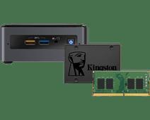 Barebone pakket - Intel NUC7CJYH 8GB RAM + 480GB SSD