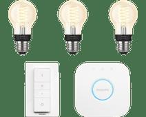 Philips Hue Filament Light White Standard E27 Bluetooth Starter Pack