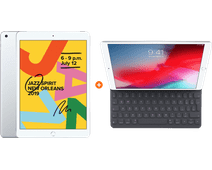 Apple iPad (2019) 32 GB Wifi Zilver + Smart Keyboard