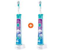 Twee keer Philips Sonicare for Kids Connected HX6321/03
