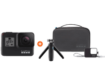 GoPro HERO 7 Black - Travelkit Basic