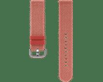 Samsung Galaxy Watch Active 2 42mm Kvadrat Bandje Rood