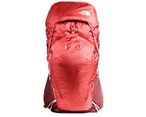 The North Face Women's Banchee 50L Barolo Red/Sunbaked Red M/L