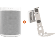Sonos One SL + Vogels Sound Muurbeugel Wit