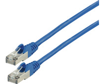Valueline Network Cable FTP CAT6 0.5 Meter Blue