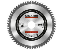Kreator Saw Blade for Wood 190x30x2.2mm 60T