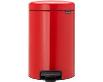 Brabantia NewIcon Pedal bin 12 Liter Red