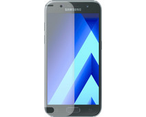 Azuri Samsung Galaxy A3 (2017) Screen Protector Curved Tempered Glass Duo Pack
