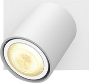 Philips Hue Runner Mounted Spot White Ambiance 1 Light White Bluetooth