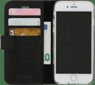 Valenta Booklet Classic Luxe Apple iPhone SE 2 / 8 / 7 Book Case Leer Zwart