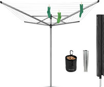 Brabantia Lift-o-Matic Advance umbrella drying rack 60 meters