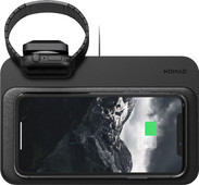 Nomad Base Station Wireless Charger with integrated Apple Watch charger