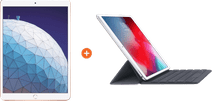 Apple iPad Air (2019) 64 GB Wifi + 4G Goud + Smart Keyboard