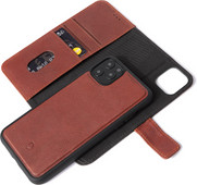 Decoded 2-in-1 Apple iPhone 11 Pro Book Case Leather Brown