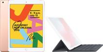 Apple iPad (2019) 128 GB Wifi Goud + Smart Keyboard
