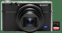 Sony Cybershot DSC-RX100 VI + SanDisk 256 GB Geheugenkaart