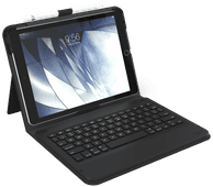 ZAGG Messenger Folio Apple iPad (2019/2020) en iPad Air (2019) Toetsenbord Hoes QWERTY Zwa
