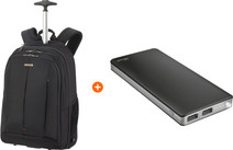 Samsonite GuardIt 2.0 15 inches Black + Trust Primo Thin Power Bank