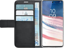 Azuri Wallet Magnet Samsung Galaxy Note 10 Lite Cover Black