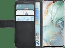 Azuri Wallet Magneet Samsung Galaxy S10 Lite Cover Zwart