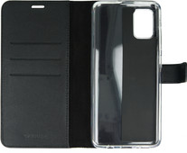 Valenta Samsung Galaxy A71 Book Case Leather Black