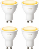 Philips Hue White Ambiance GU10 Bluetooth 4-pack