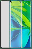 Azuri Rinox Xiaomi Mi Note 10/Note 10 Pro Screenprotector Gehard Glas Zwart