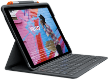 Logitech Slim Folio Apple iPad (2019/2020) Toetsenbord Hoes QWERTY