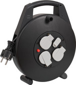 Brennenstuhl Vario Line Cable Reel with USB 10m