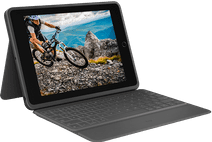 Logitech Rugged Folio Apple iPad (2019) Toetsenbord Hoes QWERTY