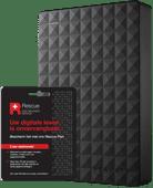 Seagate Expansion portable 5 TB + Seagate Rescue Card 2 jaar
