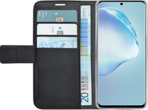 Azuri Wallet Samsung Galaxy S20 Book Case Black