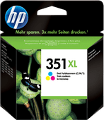 HP 351XL Cartridges Combo Pack